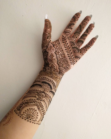 Large, Highly intricate bridal