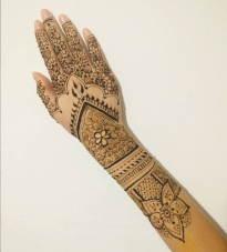 ExtraLarge, highly intricate bridal